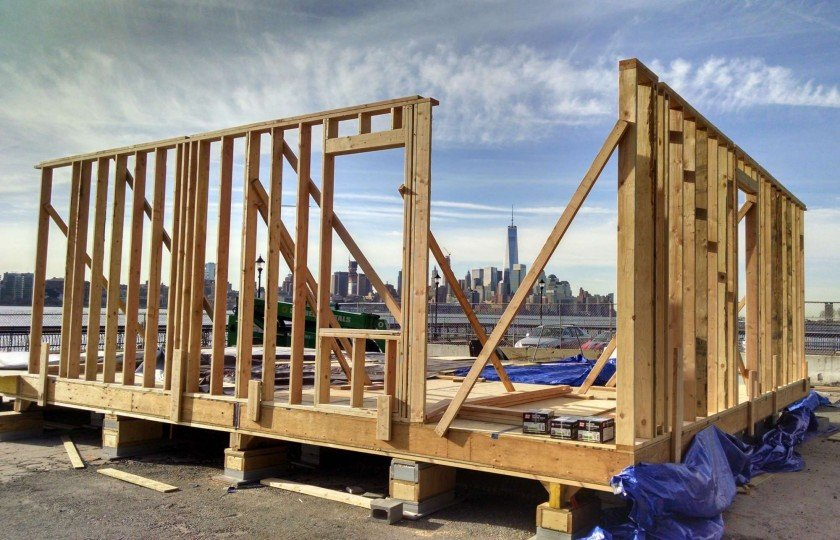 simple - Wood Frame Wall